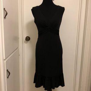 White House black market sz 4 v neck dress